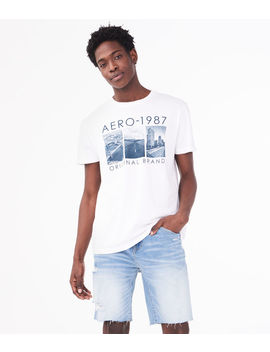 Aero 1987 Original Brand Graphic Tee by Aeropostale