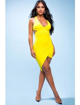 Yasmeen Cut Out Bodycon Dress by A'gaci