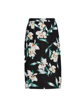 Petite Black 'eleanor' Skirt by Dorothy Perkins