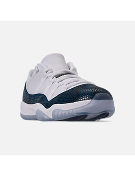 Men's Air Jordan Retro 11 Low Le Basketball Shoes by Nike