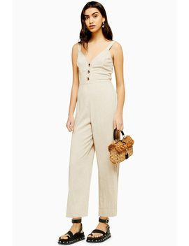 tie-back-jumpsuit-with-linen by topshop