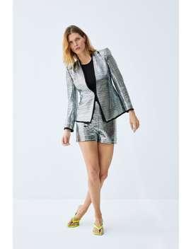 shiny-shorts--coord-sets-woman by zara