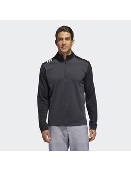 3 Stripes Core 1/4 Zip Sweatshirt by Adidas