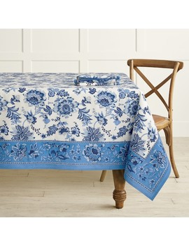 Jaipur Print Tablecloth by Williams   Sonoma