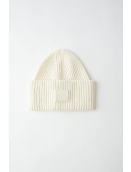 Oversized Beanie Coconut White by Acne Studios