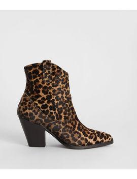 Rolene Leopard Boot by Allsaints