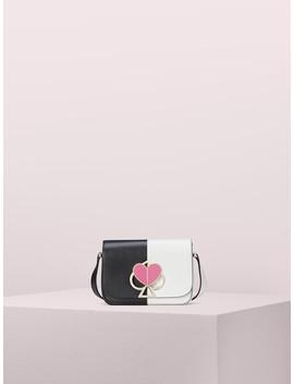 Nicola Bicolor Twistlock Small Shoulder Bag by Kate Spade