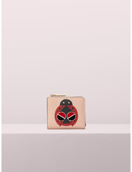 Spademals Lucky Ladybug Small Bifold Wallet by Kate Spade