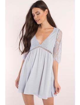 Niall Blush Day Dress by Tobi