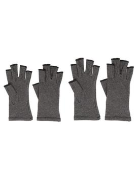 1-pair-of-mens-womens-therapy-compression-gloves-arthritis-joint-pain-relief by unbranded