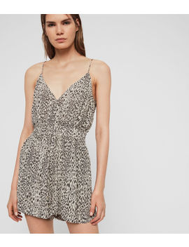 Maya Lep Playsuit by Allsaints