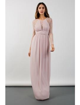 Tfnc Fable Mink Maxi Dress by Tfnc London