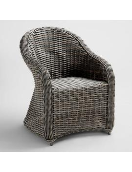 All Weather Wicker Capistrano Outdoor Armchair by World Market