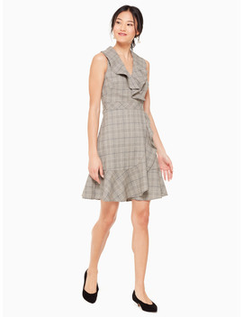 Mod Plaid Dress by Kate Spade