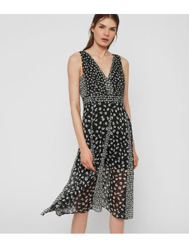 Macella Scatter Dress by Allsaints