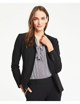 The Long Two Button Blazer In Seasonless Stretch by Ann Taylor
