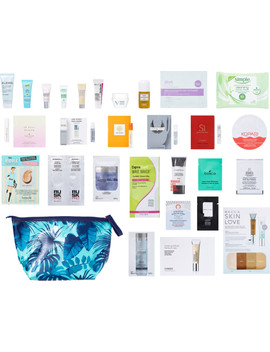 Free 28 Pc Skin Beauty Bag With Any $70 Online Purchase by Online Only