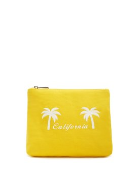 California Graphic Makeup Bag by Forever 21