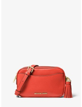 Pebbled Leather Convertible Camera Bag by Michael Michael Kors