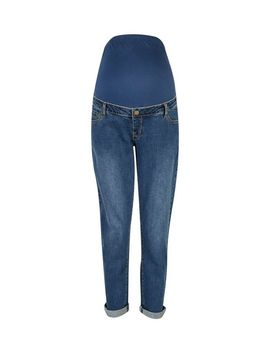 **Maternity Midwash Overbump Boyfriend Jeans by Dorothy Perkins
