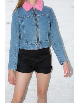 Karina Fur Jacket by Brandy Melville