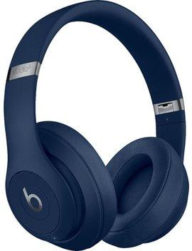 Geek Squad Certified Refurbished Beats Studio³ Wireless Noise Canceling Headphones   Blue by Beats By Dr. Dre