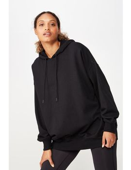 Oversized Longline Hoodie by Cotton On