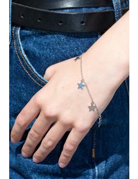 Silver Star Bracelet by Brandy Melville