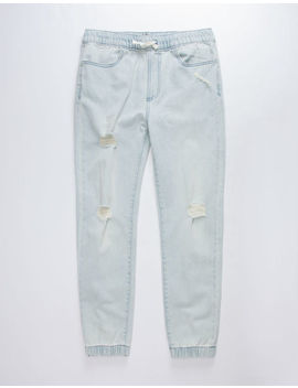 East Pointe Damien Denim Boys Ripped Jogger Pants by East Pointe