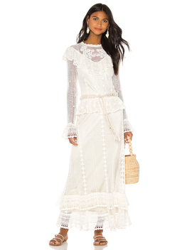 Allia Crochet Maxi Dress by Zimmermann