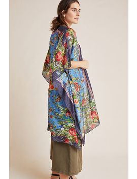 Baroque Blooms Kimono by Anthropologie