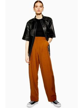 **Rust Essential Peg Trousers by Topshop
