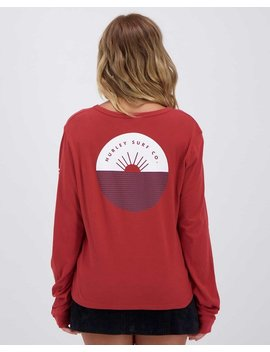 Horizon Perfect Long Sleeve T Shirt by Hurley