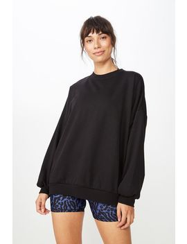 Slouchy Active Crew Top by Cotton On