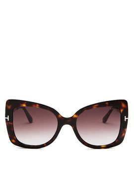 Women's Gianna Square Sunglasses, 54mm by Tom Ford