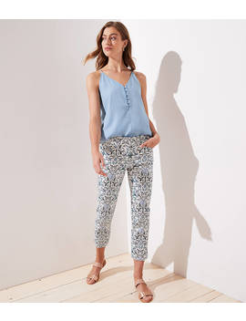 Floral Riviera Pants In Marisa Fit by Loft