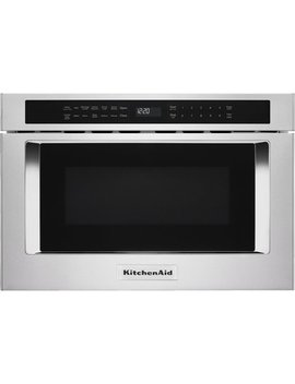 "24"" 1.2 Cu. Ft. Built In Microwave Drawer   Stainless Steel by Kitchen Aid"