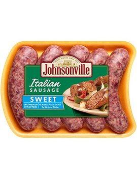 Johnsonville, Sweet Italian Sausage, 19 Oz (Frozen) by Johnsonville