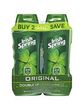 Irish Spring Body Wash, Original, 18 Fluid Ounce (Pack Of 2) by Irish Spring