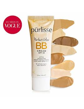 Purlisse Perfect Glow Bb Cream Spf 30   Bb Cream For All Skin Types   Smooths Skin Texture, Evens Skin Tone   Light Medium, 1.4 Ounce by Pūrlisse