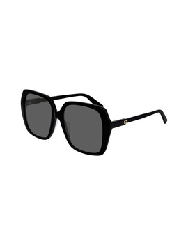 56mm Square Sunglasses by Gucci