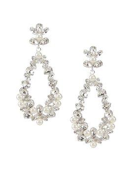 Pearl Swing Earrings by Cezanne
