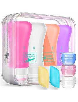 Travel Bottles Tsa Approved Containers, 3 Oz Leak Proof Travel Accessories Toiletries Shampoo And Conditioner Bottles by Bariho