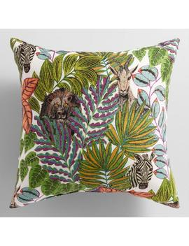 Jungle Love Outdoor Throw Pillow by World Market