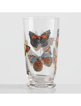 Small Butterfly Glasses Set Of 4 by World Market