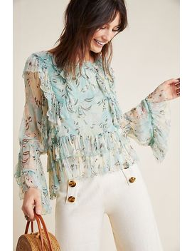 Danube Ruffled Blouse by Love Sam