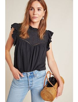Andi Eyelet Top by Eri + Ali
