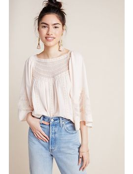 Valentia Peasant Blouse by Anthropologie