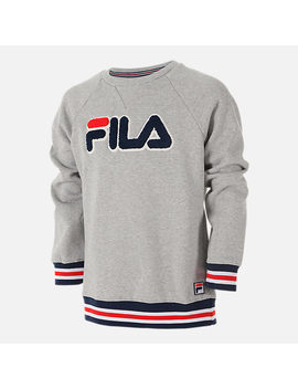 Boys' Fila Varsity Crewneck Sweatshirt by Finish Line