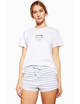 'aroarable' Short Leg Pyjama Set by Topshop